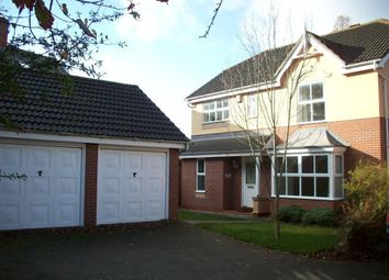 Thumbnail 4 bed detached house to rent in Melton Road, Syston