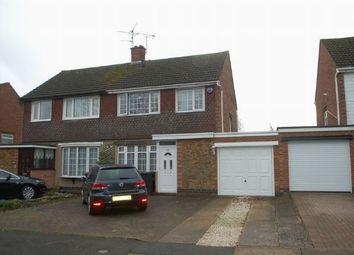 Thumbnail 3 bedroom semi-detached house for sale in Harlestone Road, Duston, Northampton