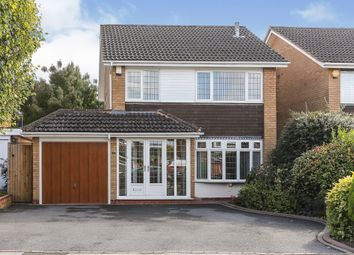 Thumbnail 3 bed detached house for sale in Starbold Crescent, Knowle, Solihull