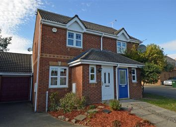Thumbnail 2 bed semi-detached house for sale in Impey Close, Thorpe Astley, Braunstone, Leicester