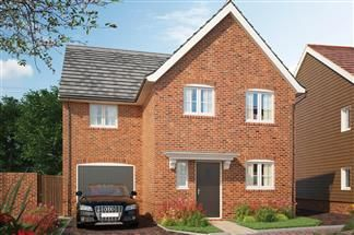 Thumbnail 4 bed detached house for sale in Off Bessle's Way, Blewbury Didcot, Oxfordshire
