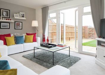 "Thumbnail 4 bed town house for sale in ""The Fossdale"" at Westlake Avenue, Hampton Vale, Peterborough"