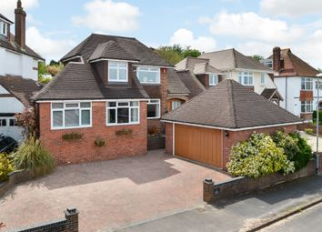 Thumbnail 4 bed detached house for sale in Hilltop Crescent, Portsmouth