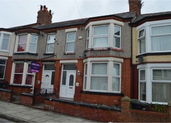 Thumbnail 3 bed terraced house for sale in Primrose Road, Birkenhead