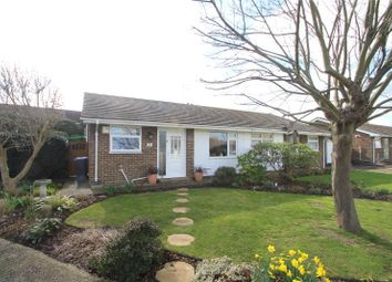 Thumbnail 2 bed semi-detached bungalow for sale in Milton Close, Lancing, West Sussex