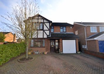 Thumbnail 4 bed detached house for sale in Summit Rise, East Hunsbury, Northampton