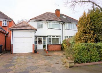 Thumbnail 3 bed semi-detached house for sale in Kingsdown Road, Birmingham