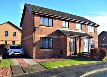 Thumbnail 3 bed semi-detached house for sale in Sunflower Gardens, Motherwell, North Lanarkshire
