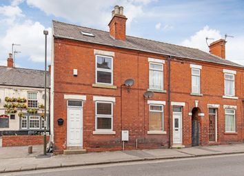 Thumbnail 3 bed end terrace house for sale in Old Hall Road, Brampton, Chesterfield