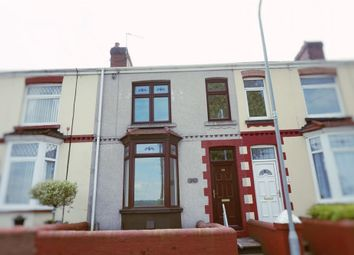 Thumbnail 3 bed terraced house to rent in Hillside, Neath, West Glamorgan