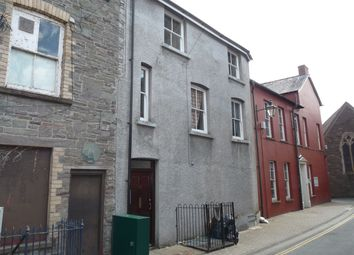 Thumbnail 1 bed flat to rent in Church Lane, Brecon