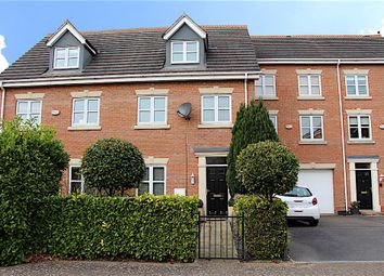 Thumbnail 3 bed town house for sale in Langford Gardens, Grantham