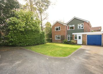 Thumbnail 5 bed detached house for sale in Chiltern Close, Church Crookham, Fleet