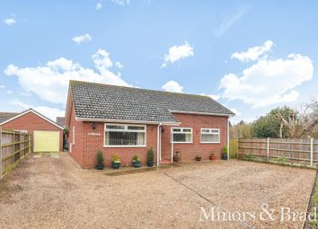 Thumbnail 3 bed detached bungalow for sale in Staithe Road, Hickling, Norwich