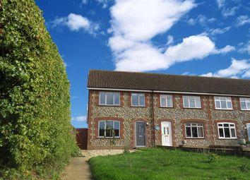 Thumbnail 3 bed end terrace house for sale in The Street, Hindringham, Fakenham