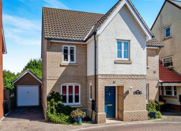 Thumbnail 3 bedroom detached house for sale in Sandpiper Road, Stowmarket