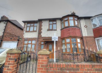 Thumbnail 5 bedroom semi-detached house for sale in Fenham Hall Drive, Fenham, Newcastle Upon Tyne