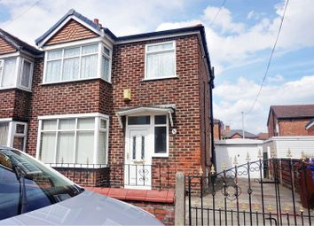 Thumbnail 3 bed semi-detached house for sale in Ollier Avenue, Manchester