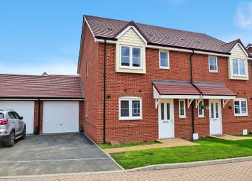 Thumbnail 3 bed semi-detached house to rent in Etherington Place, Kingley Gate, Littlehampton