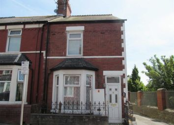 Thumbnail 3 bed end terrace house to rent in Evelyn Street, Barry, Vale Of Glamorgan