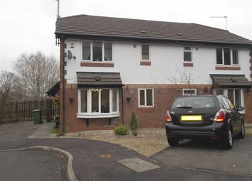 Thumbnail 1 bed terraced house to rent in Cefn Close, Glyncoch, Pontypridd