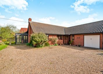 Thumbnail 3 bedroom detached bungalow for sale in The Knoll, Redlingfield, Eye