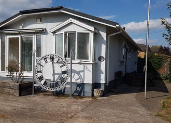Thumbnail 2 bed mobile/park home for sale in Brookside Caravans, Eastbury Road, Watford