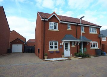 Thumbnail 3 bed semi-detached house for sale in Bromley Road Kingsway, Quedgeley, Gloucester