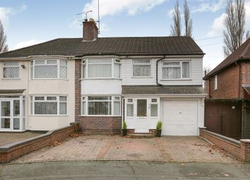 Thumbnail 4 bed semi-detached house for sale in Copes Crescent, Wednesfield/ Fallings Park, Wolverhampton
