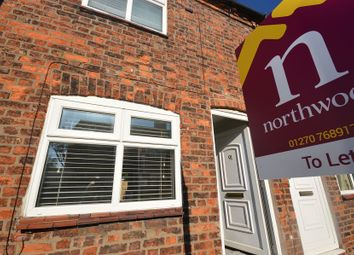 Thumbnail 2 bed end terrace house to rent in Elton Road, Sandbach
