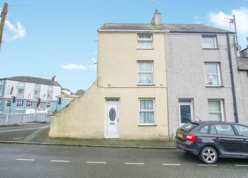 Thumbnail 3 bed terraced house for sale in Snowdon Street, Caernarfon, Gwynedd