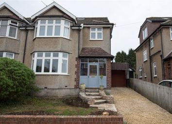 Thumbnail 4 bed semi-detached house for sale in Coombe Bridge Avenue, Stoke Bishop, Bristol