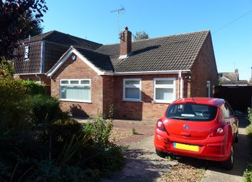 Thumbnail 3 bed detached bungalow for sale in Coneygree Road, Peterborough, Cambridgeshire.