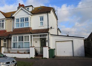 Thumbnail 4 bed end terrace house for sale in Seaville Drive, Pevensey Bay, Pevensey
