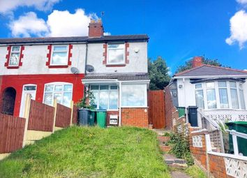 Thumbnail 2 bed end terrace house to rent in Marsh Lane, West Bromwich