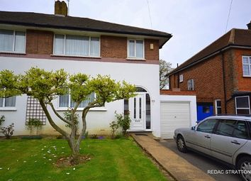 Thumbnail 3 bed semi-detached house for sale in Offham Slope, Woodside Park, London