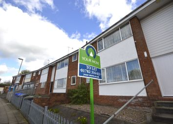 Thumbnail 2 bed flat to rent in Westonfields Drive, Longton, Stoke-On-Trent