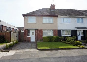Thumbnail 3 bed semi-detached house for sale in Captains Lane, Bootle