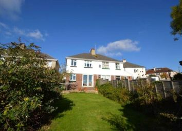 Thumbnail 3 bed semi-detached house for sale in Netley Road, Newton Abbot, Devon