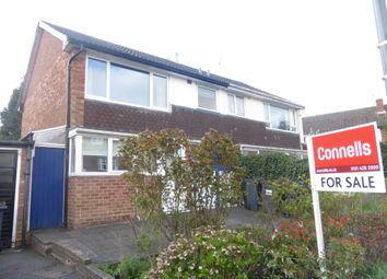 Thumbnail 3 bed semi-detached house for sale in Wentworth Road, Harborne, Birmingham