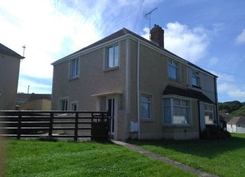 Thumbnail 3 bed semi-detached house to rent in St Lawrence Avenue, Milford Haven, Pembrokeshire