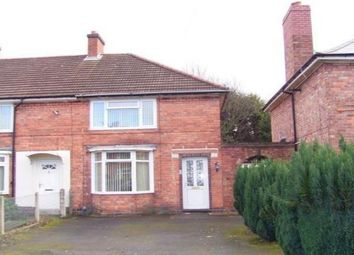 Thumbnail 3 bedroom end terrace house to rent in Alumhurst Avenue, Saltley, Birmingham