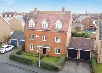 Thumbnail 5 bed detached house for sale in Harvey Way, Rendlesham, Woodbridge