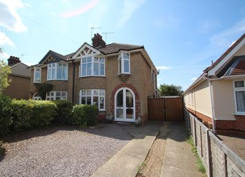 Thumbnail 3 bed semi-detached house for sale in Chilton Road, Ipswich