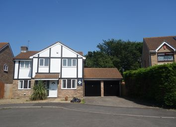 Thumbnail 4 bed detached house to rent in Dulverton Drive, Sully, Penarth