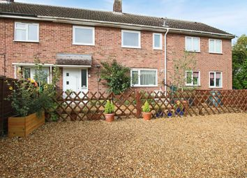 Thumbnail 3 bed terraced house for sale in Fowlmere Road, Foxton, Cambridge