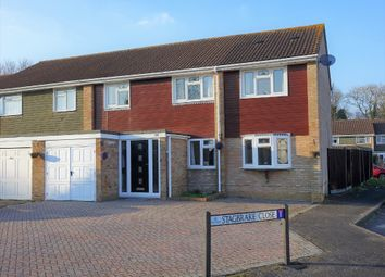 Thumbnail 5 bed end terrace house for sale in Studley Avenue, Holbury, Southampton