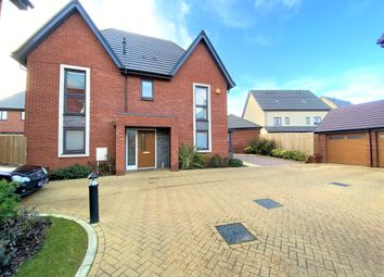 Thumbnail 4 bedroom detached house for sale in Wymondham Close, Daventry