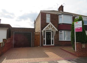 Thumbnail 3 bed semi-detached house for sale in Glenmor Grove, Normanby, Middlesbrough