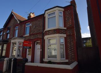 Thumbnail 3 bed end terrace house for sale in Mulberry Road, Rock Ferry, Birkenhead
